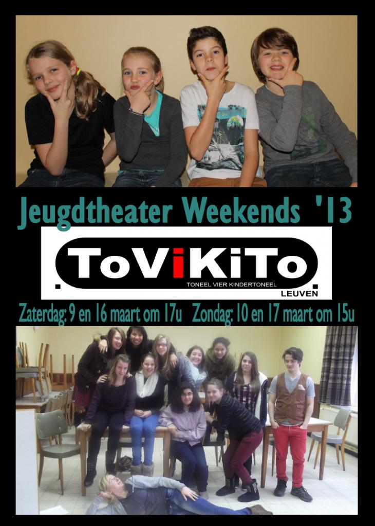Tovikito jeugdtheater weekends