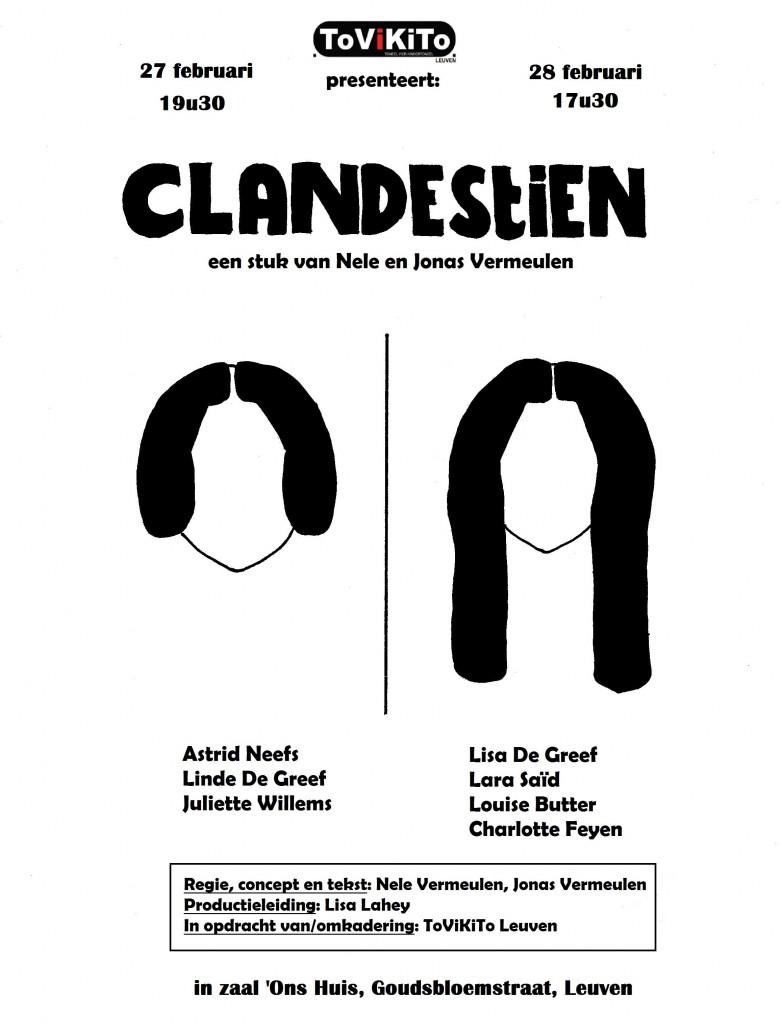 affiche CLANDESTIEN